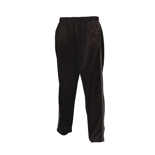 Men's Tricot Athletic Pant, Black/Charcoal, swatch