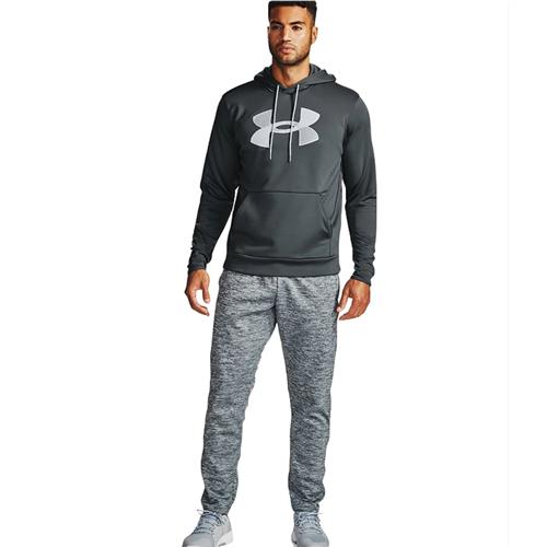 Men's Armour Fleece Big Logo Hoodie, Gray, swatch