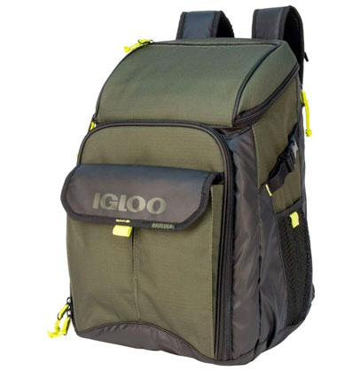 Outdoorsman Gizmo Backpack, Green, swatch