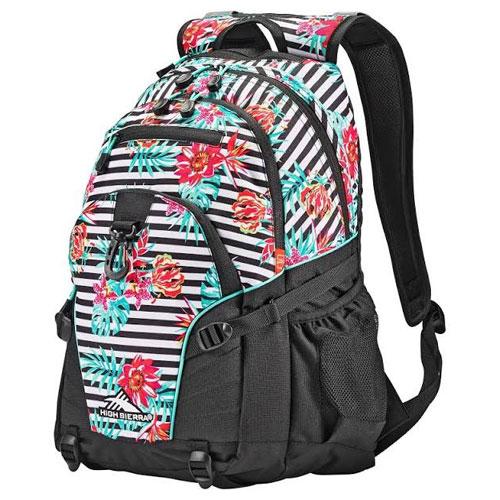 Loop Daypack, Black/Teal, swatch