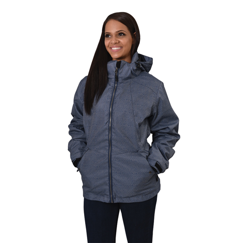 Women's Ivy 3 In 1 System Ski Jacket, Blue, swatch