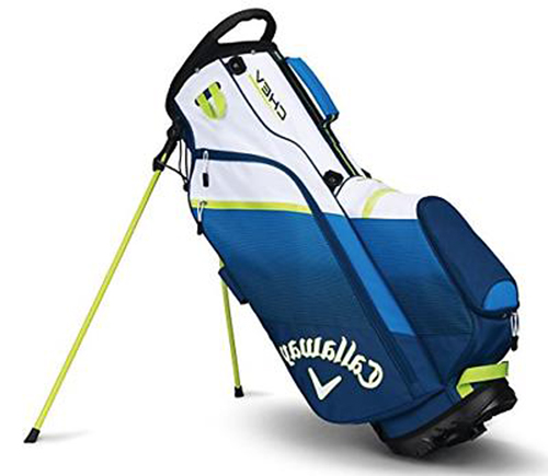 Chev Stand Bag, Blue/Yellow, swatch