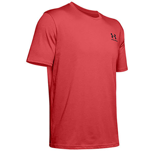 Men's Sportstyle Left Chest Short Sleeve T-Shirt, Red, swatch
