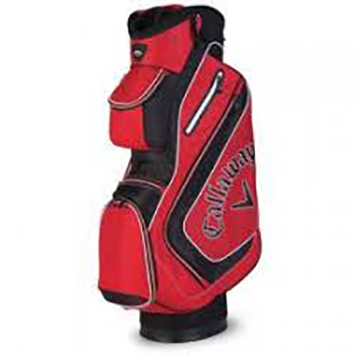 Chev Cart Bag, Red/Black, swatch