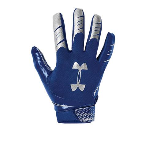 Men's F7 Football Receiver Gloves, Royal Bl,Sapphire,Marine, swatch