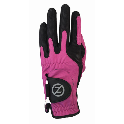 Men's Compression Left Hand Golf Glove, Pink, swatch