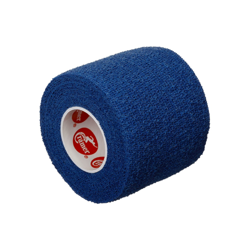 Self-Stick Stretch Athletic Tape, Blue, swatch