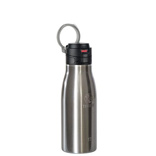17oz Leak Proof Insulated Travel Mug, Charcoal,Smoke,Steel, swatch