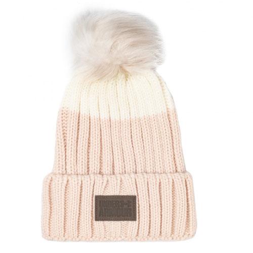 Women's Snowcrest Pom Beanie, Pink, swatch