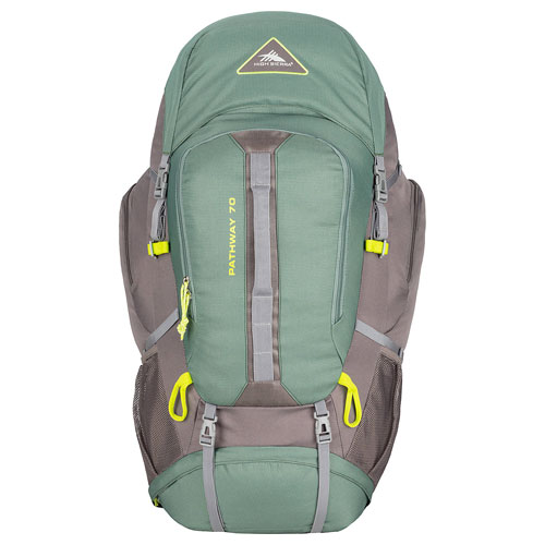 Pathway 70L Hiking Pack, Green/Silver, swatch