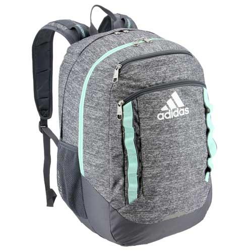 Excel V Backpack, Gray/Lt Blue, swatch