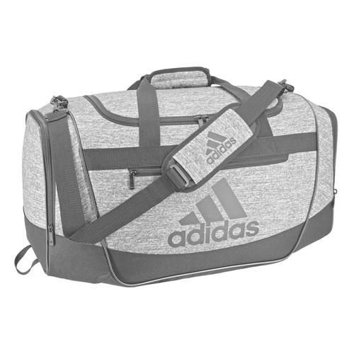 Defender III Medium Duffel Bag, Heather Gray, swatch