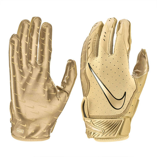 Men's Vapor Jet 5.0 Football Gloves, Gold, Yellow, swatch