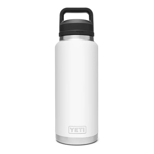 Rambler 36oz Bottle With Chug Cap, White, swatch