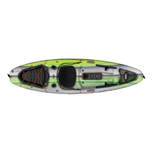 Strike 100x Sit-on-top Angler Kayak, Green/White, swatch