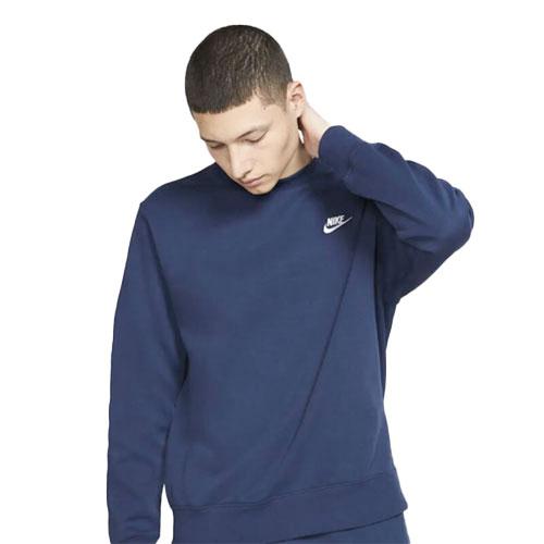 Men's Sportswear Club Crewneck Sweatshirt, Navy, swatch