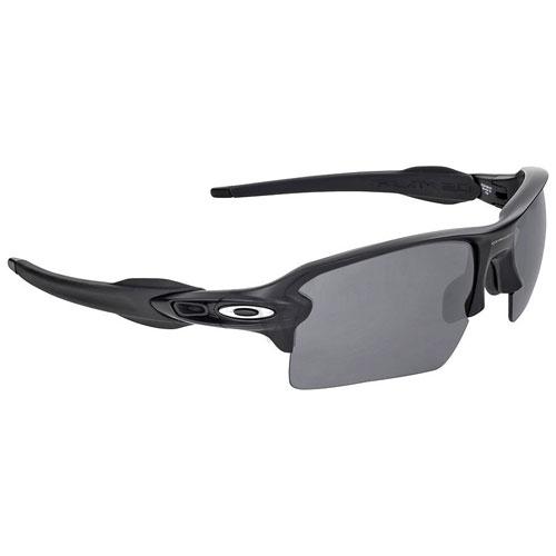 Flak 2.0 XL Fire Iridium Sunglasses, Black/Black, swatch