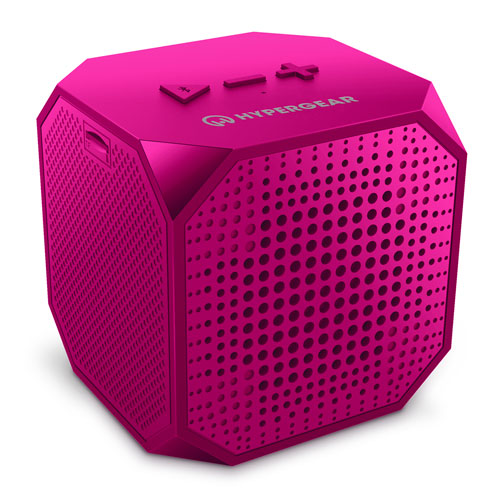 Sound Cube Wireless Speaker, Pink, swatch