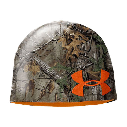 Men's Reversable Camo Beanie, , large