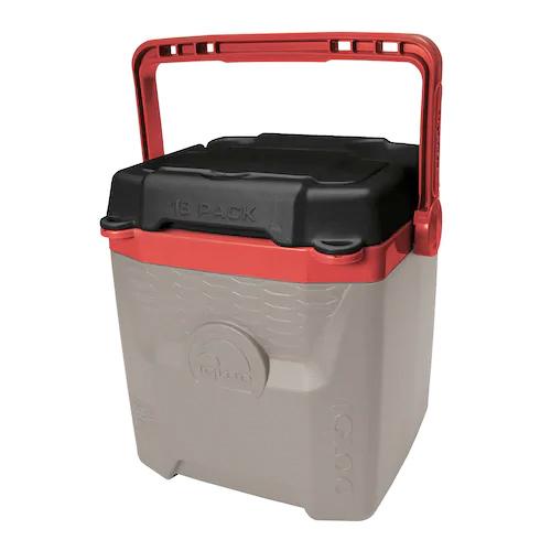 Quantum 12Qt Cooler, Red/Brown, swatch