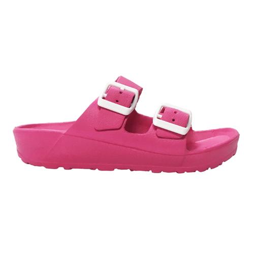 Girls' EVA Sandals, Hot Pink,Fuscia,Magenta, swatch