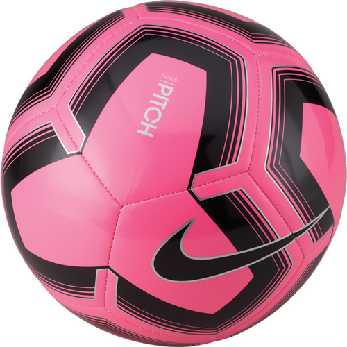 Pitch Training Soccer Ball, Pink/Black, swatch