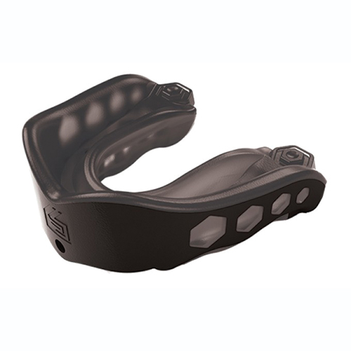 Gel Max Convertible Mouthguard, Black, swatch