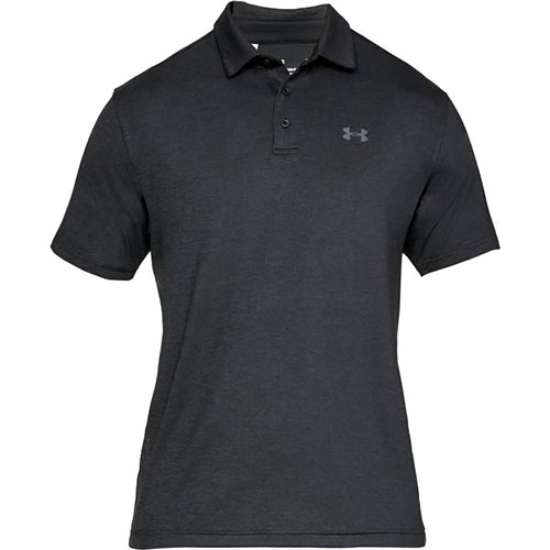 Men's Playoff 2.0 Polo, Black, swatch