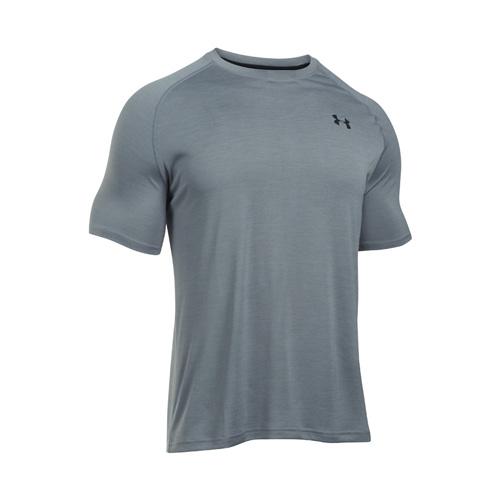 Men's Short Sleeve Tech T-Shirt, Heather Gray, swatch