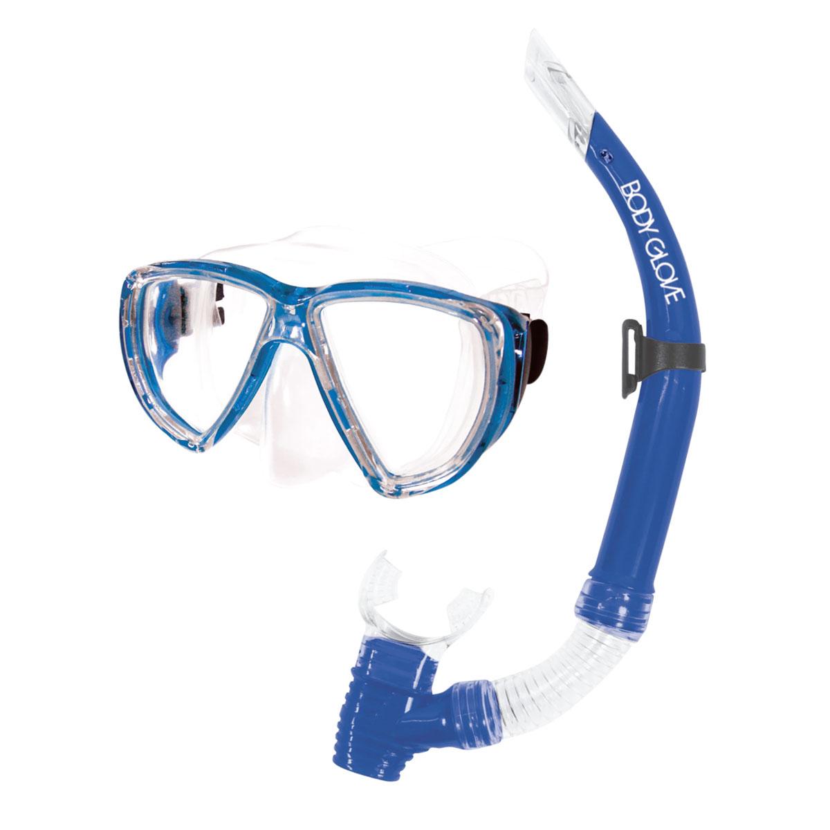 Puerto Mask/Snorkel Combo, Blue, swatch