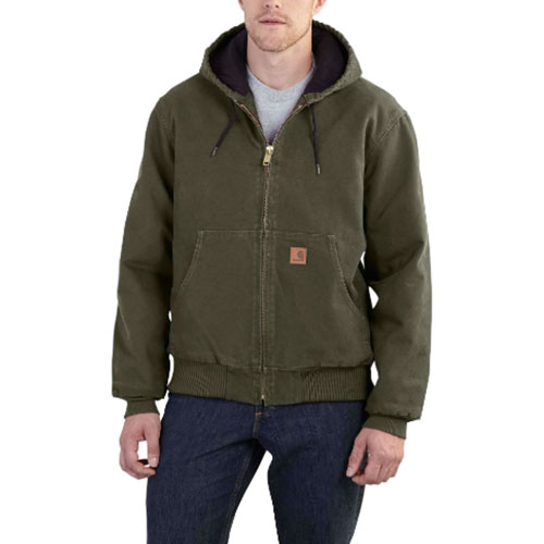 Men's Sandstone Active Jacket, Tank,Army Green, swatch