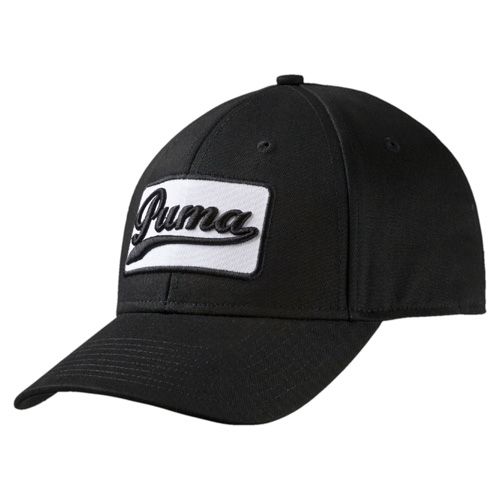 Greenskeeper Adjustable Golf Cap, Black/White, swatch