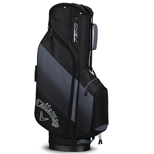 Chev Cart Golf Bag, Black/Gray, swatch