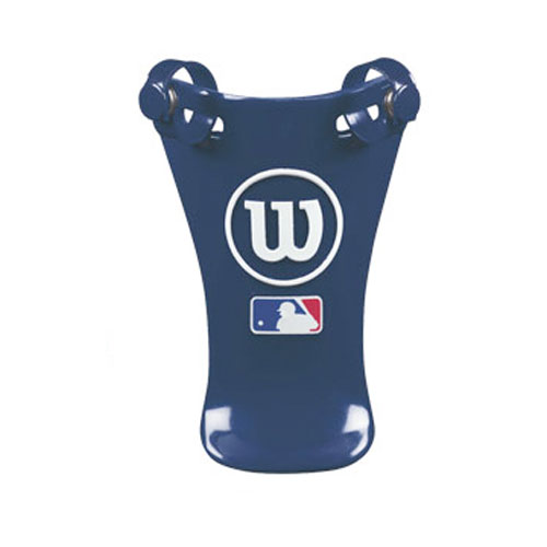 "6"" Throat Protector, Navy, swatch"