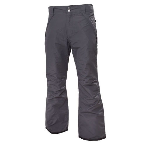 Women's Insulated Snow Pants, Heather Gray, swatch