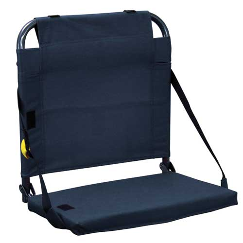 Bleacher Back Stadium Seat, Navy, swatch