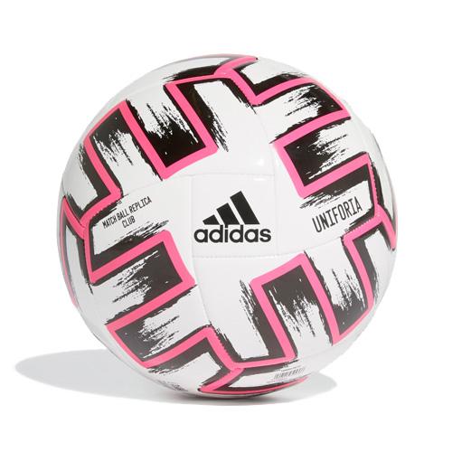 Uniforia Club Soccer Ball, White/Pink, swatch