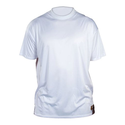 Solid Short Sleeve Shirt, White, swatch