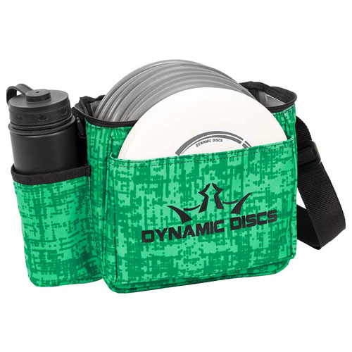 Cadet Starter Disc Golf Bag, Green/Blk, swatch