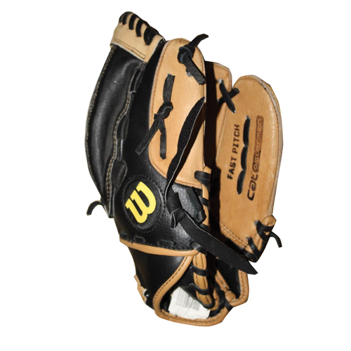 """Youth Fastpitch 11"""" A440 Softball Glove, Brown, swatch"""