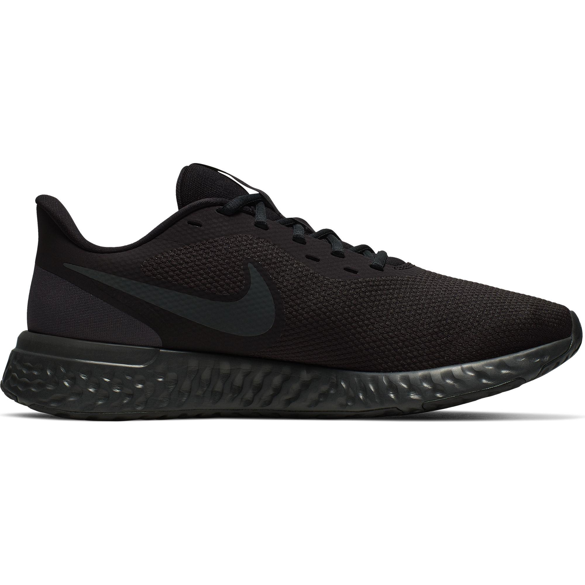 Men's Revolution 5 Running Shoes, Black, swatch