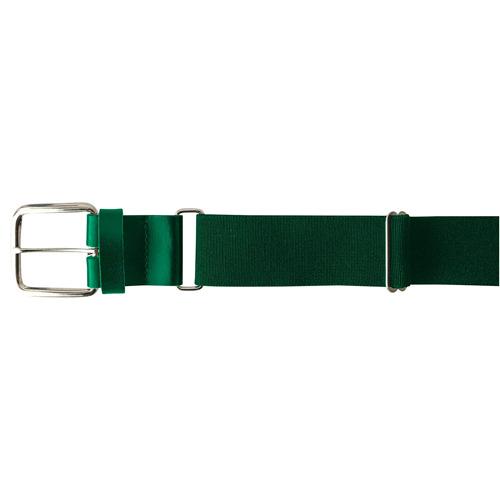 "1.5"" Leather Baseball Belt, Dkgreen,Moss,Olive,Forest, swatch"