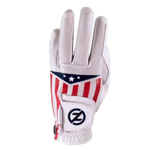 Men's Americana Leather Cabet Left Hand Golf Glove, White, swatch