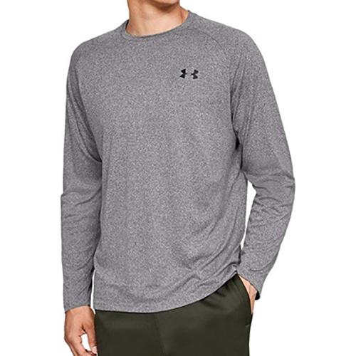 Men's Long Sleeve Tech 2.0 T-Shirt, Charcoal,Smoke,Steel, swatch