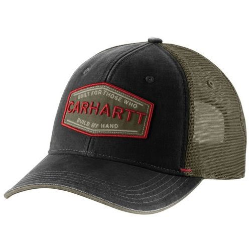 Silvermine Cap, Charcoal/Black, swatch