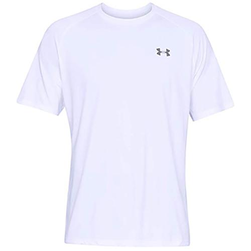 Men's Short Sleeve Tech 2.0 T-Shirt, White, swatch