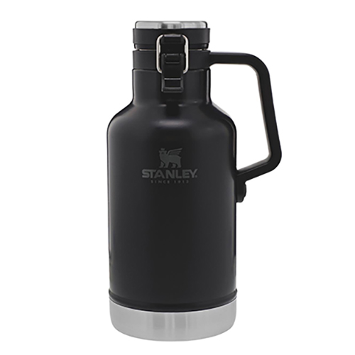64 oz Vacuum Growler Bottle, Black, swatch