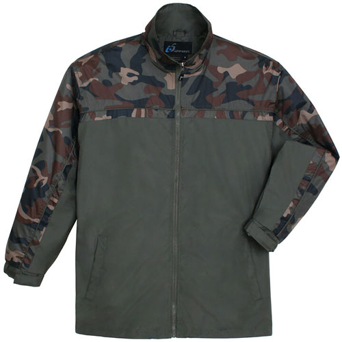 Men's Camo Yakima Jacket, Dkgreen,Moss,Olive,Forest, swatch