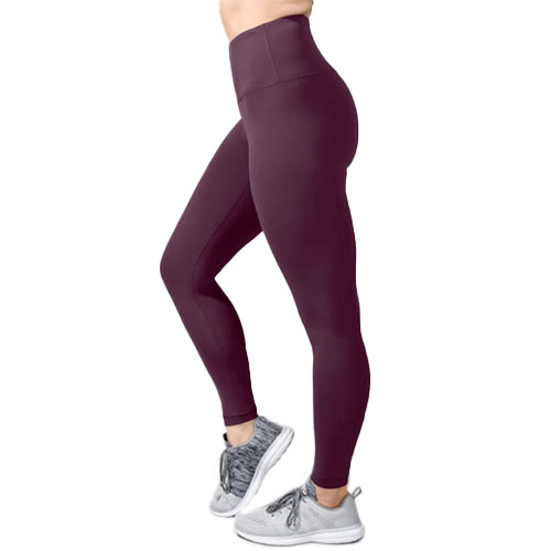 Women's Tech High Rise Ankle Length Leggings, Med Purple,Plum,Grape, swatch