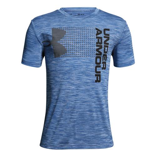 Boys' Crossfade T-Shirt, Green Blue, Teal, swatch